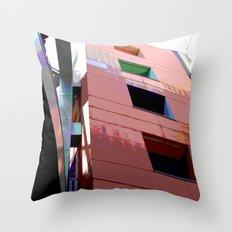 Blocks Throw Pillow