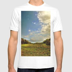 untitled White SMALL Mens Fitted Tee