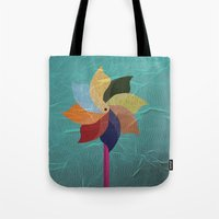 Toy Windmill Tote Bag