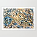 Starry Wishes and Bokeh Dreams... Art Print
