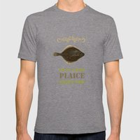 Im in a bad Plaice  Mens Fitted Tee Tri-Grey SMALL