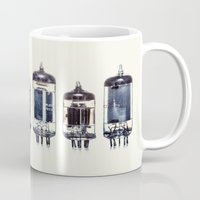 Vintage Amplifier Tubes Mug