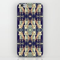Foxes On Repeat iPhone & iPod Skin