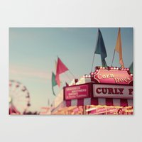 All's Fair Canvas Print
