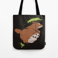 Toto Fly Tote Bag