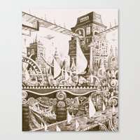The Tilhilnilian Highway Canvas Print