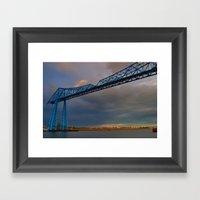 Middlesbrough Transporte… Framed Art Print