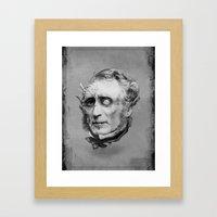 The Corrupted Man Framed Art Print