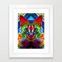 Sir Parker The Chromatic… Framed Art Print