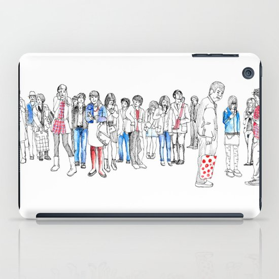 In Moments of Waiting iPad Case