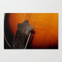 Mandolin Canvas Print