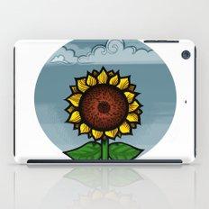kitschy sunflower iPad Case