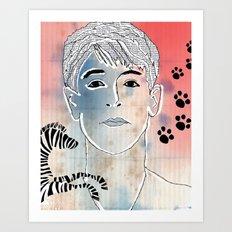 87. Art Print