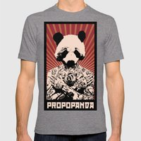 PROPOPANDA Mens Fitted Tee Tri-Grey SMALL