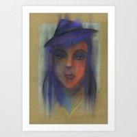 Blunt Art Print