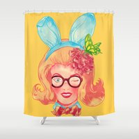 Lapin Belle Shower Curtain