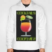 Cocktail Orange And Red … Hoody