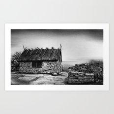 Boathouse Art Print