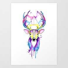 Patronus Harry Potter Art Print