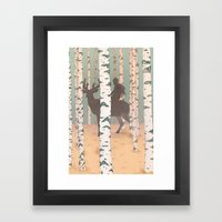 Fantasy Print, Folk Art … Framed Art Print