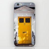 The Perfect Yellow Door iPhone & iPod Skin