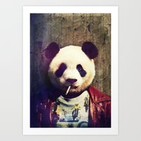 Panda Durden Art Print