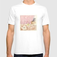 Dance Request Mens Fitted Tee White SMALL