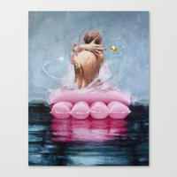 Canvas Print featuring Untitled by Vanessa Dakinsky