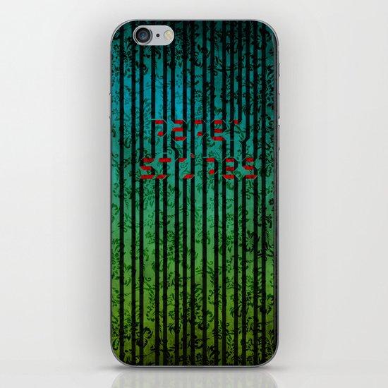 Paper Stripes iPhone & iPod Skin