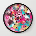 Colorful Place Wall Clock