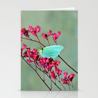 butterfly Stationery Cards featuring butterfly by  Agostino Lo Coco