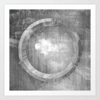 Circle Distortions #3 Art Print
