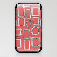 Picture Frames Coral iPhone & iPod Skin