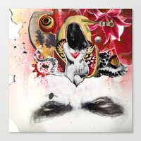 MINGA X Sleepless Is The… Canvas Print