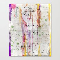 Looking Canvas Print