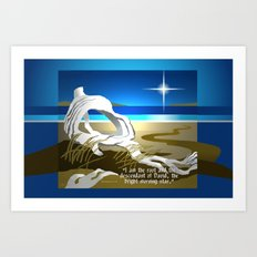 The Bright Morning Star Art Print