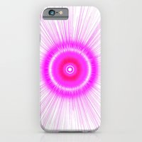 iPhone & iPod Case featuring Pink explosion  by John McGrath