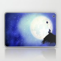 The man & the moon Laptop & iPad Skin