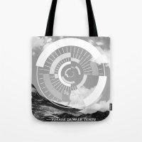 Voyage Dans Le Temps Tote Bag