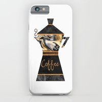 coffee iPhone & iPod Cases featuring Coffee by Elisabeth Fredriksson