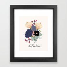 Noire Framed Art Print