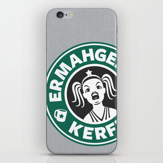 Ermahgerd, Kerfer! iPhone & iPod Skin