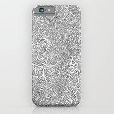 2D Pizza iPhone 6 Slim Case