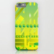 geometric forms iPhone 6 Slim Case
