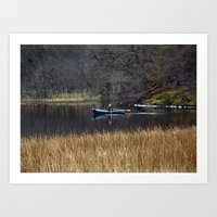 Morning On Loch Craigall… Art Print