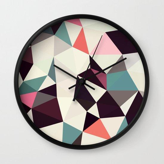 Retro Tris Light Wall Clock
