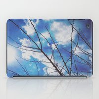 Thorns On Blue iPad Case