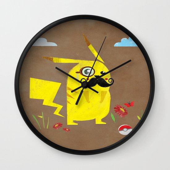 Pikachu Wall Clock
