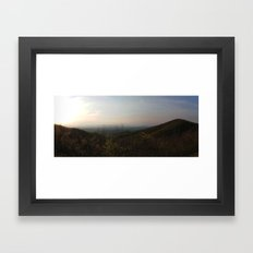 Blue Ridge Parkway Framed Art Print