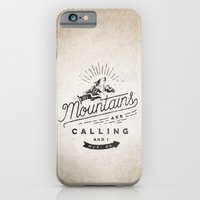 mountains iPhone & iPod Cases featuring Mountains by Seaside Spirit